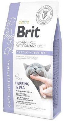 Сухой корм Brit Veterinary Diet Cat Grain free Gastrointestinal беззерновой, при остром и хроническом гастроэнтерите