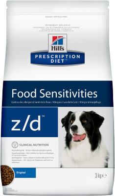 Сухой корм для собак Hill's Prescription Diet z/d для лечения острых пищевых аллергий