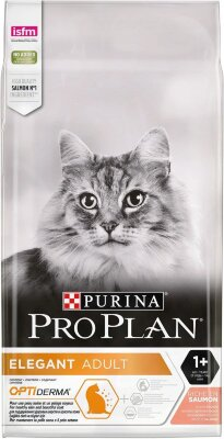 Сухой корм Pro Plan Derma Plus для кошек с проблемами кожи и шерсти