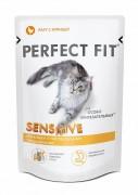 Паучи Perfect Fit Sensitive для чувствительных кошек, рагу с курицей 85 г