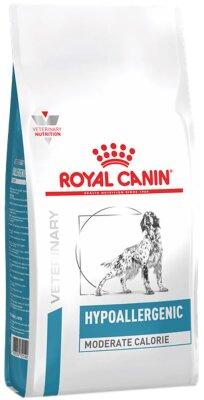Сухой корм Royal Canin Hypoallergenic Moderate Calorie для собак при пищевой аллергии или непереносимости