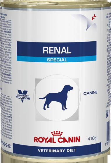 Консервы Royal Canin Renal Special для взрослых собак с хронической почечной недостаточностью, 410г