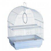 Клетка для птиц Kredo А100 овальная цветная, 30х23х39см