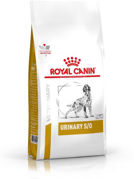 Сухой корм Royal Canin Urinary S/O LP18 диета для собак при лечении моче-каменной болезни