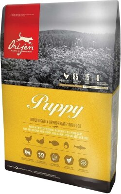 Сухой корм для щенков всех пород Orijen Puppy 85/15 беззерновой