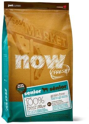 Сухой корм NOW Fresh Large Breed Senior  контроль веса для пожилых собак крупных пород беззерновой с индейкой, уткой и овощами