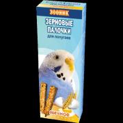 """Зерновые палочки для волнистых попугаев Зооник """"Яичные"""", 2 шт"""