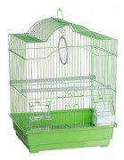 Клетка для птиц Kredo А113 фигурная цветная, 30х23х39см