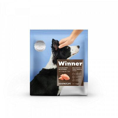 Сухой корм Winner полнорационный для собак средних пород из курицы