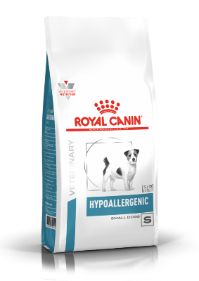 Сухой корм Royal Canin Hypoallergenic Small Dog HSD24 для собак мелких размеров при пищевой аллергии, 1 кг