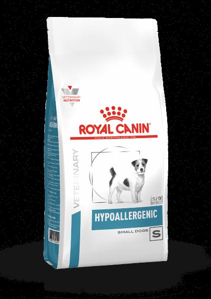Сухой корм Royal Canin Hypoallergenic Small Dog HSD24 для собак мелких размеров при пищевой аллергии, 1 кг