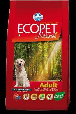 Сухой корм Farmina Ecopet Natural Adult Medium для взрослых собак средних пород