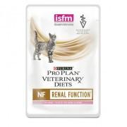 Паучи Pro Plan Veterinary Diets NF для кошек при заболевании почек, Лосось, 10шт x 85г