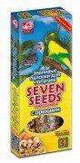 Зерновые палочки для попугаев SEVEN SEEDS с орехами 3 шт (90г)