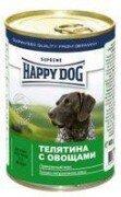 Консервы Happy Dog для собак 400 г (телятина с овощами)