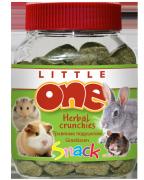 Лакомство  для грызунов Little One травяные подушечки, 90г