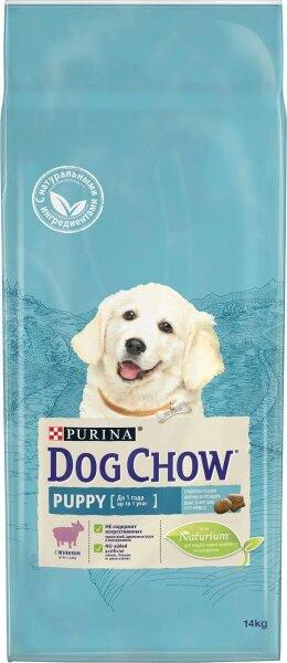 Сухой корм DOG CHOW Puppy для щенков с ягненком