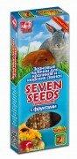 Зерновые палочки для кроликов и морских свинок SEVEN SEEDS с фруктами 2шт (100г)