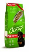 Сухой корм Оскар для активных собак, 13 кг
