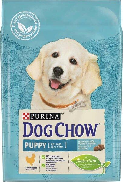 Сухой корм DOG CHOW Puppy для щенков с курицей