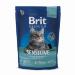 Сухой корм Brit Premium Cat Sensitive для кошек с чувствительным пищеварением, ягненок и рис