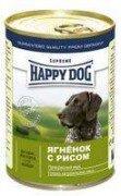 Консервы Happy Dog для собак 400 г (ягненок с рисом)