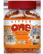 Лакомство для грызунов Little One сушеная морковь, 150г