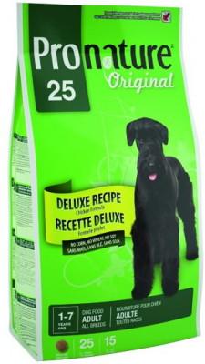 Сухой корм Pronature Original 25 для собак без сои, пшеницы, кукурузы