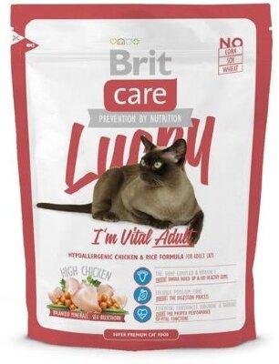 Сухой корм Brit Care Cat Lucky Vital Adult для взрослых кошек