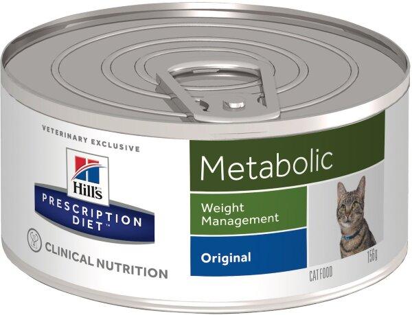 Консервы Hill's Prescription Diet Metabolic для кошек для коррекции веса, 24шт x 156г