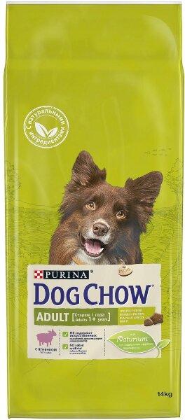 Сухой корм DOG CHOW Adult для собак, Ягненок